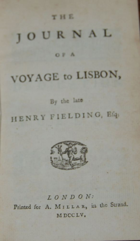 THE JOURNAL OF A VOYAGE TO LISBON. Henry FIELDING.