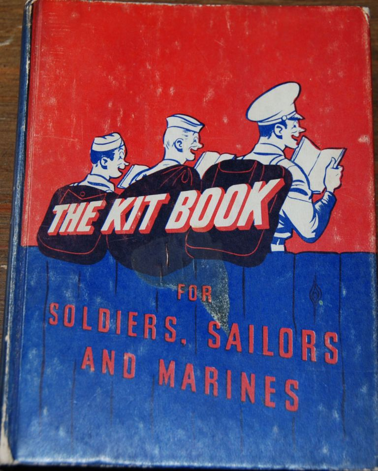 THE KITBOOK; For soldiers, sailors, and marines. R. M. BARROWS, comp.