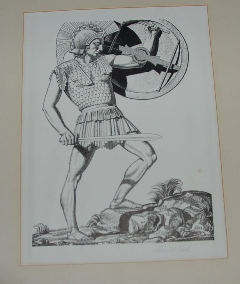 11 SIGNED LITHOGRAPHS OF CHARACTERS FROM THE WORKS OF WILLIAM SHAKESPEARE. Rockwell KENT.