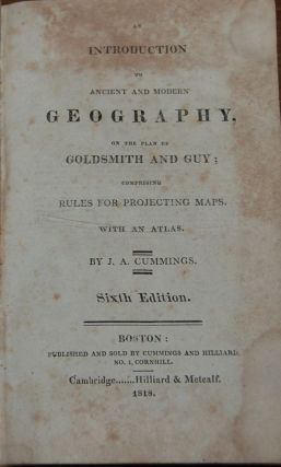 AN INTRODUCTION TO ANCIENT AND MODERN GEOGRAPHY; on the plan of Goldsmith and Guy, Comprising...