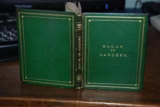 AN ESSAY ON GARDENS; a calligraphic manuscript by C. M. D. Francis BACON