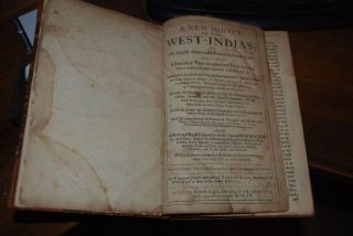 A NEW SURVEY OF THE WEST-INDIA'S:; Or, The English American his Travail by Sea and Land:...