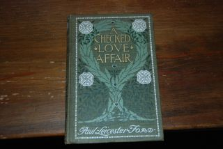 A CHECKERED AFFAIR; and the cortef you feud with photogravures by Harrison Fisher with cover...