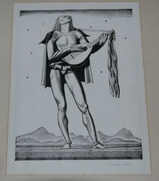 11 SIGNED LITHOGRAPHS OF CHARACTERS FROM THE WORKS OF WILLIAM SHAKESPEARE